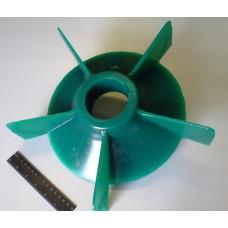 Колесо вентилятора для двигателя 5АМ315 (компрессор выдува буровой мелочи из скважины)